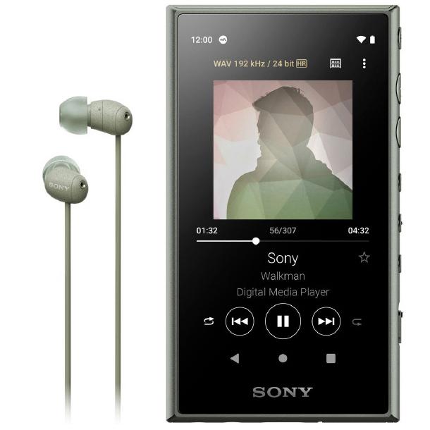 Sony Walkman NW-A105HNG цвет зелёный купить в Sony Centre Воронеж