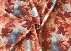 Тентовая ткань Листопад бордо