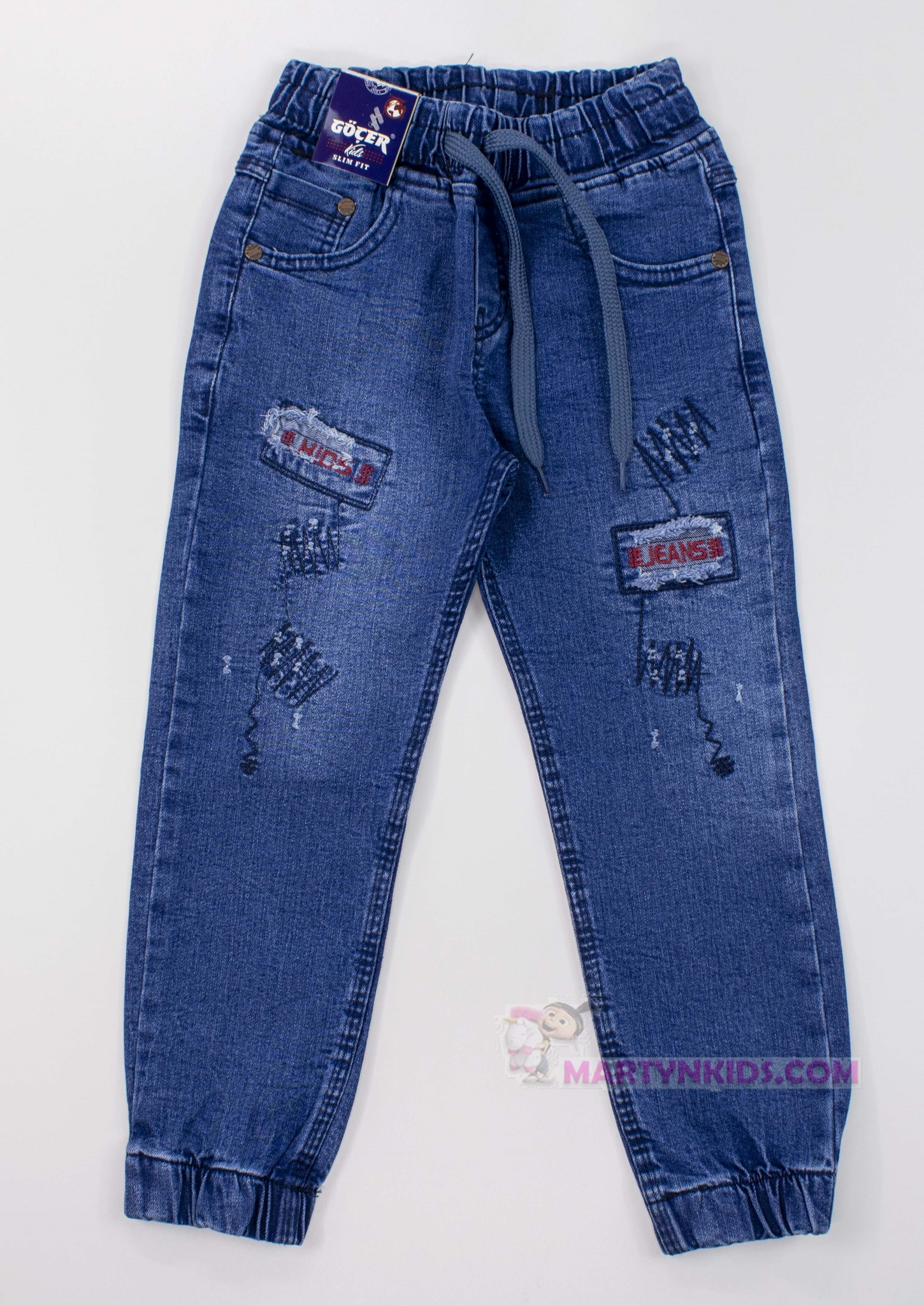3382 джинсы - джогеры