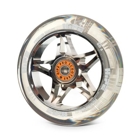 колесо HIPE Star прозрачное 110 мм купить