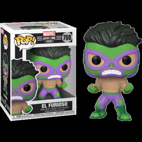Фигурка Funko Pop! Marvel: Lucha Libre Edition - El Furioso