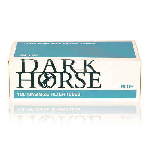 Гильзы для самокруток DARK HORSE Blue пач/100