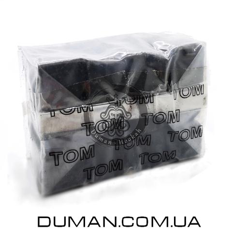 Натуральный кокосовый уголь для кальяна Tom Cococha Gold C22 (Том Кокоча) |250 гр 24куб 22*22мм