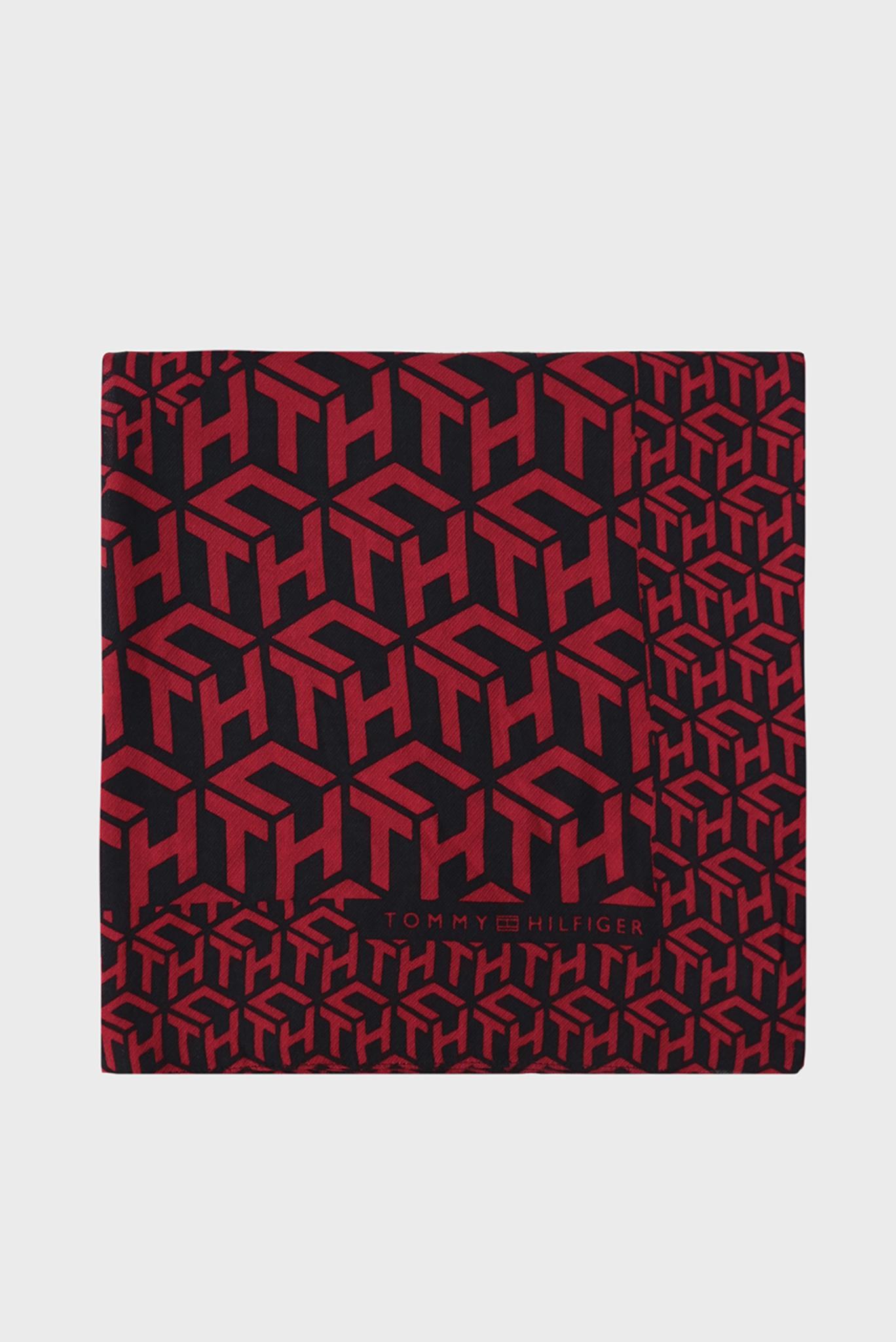 Женский платок MASCOT MONOGRAM SQUARE Tommy Hilfiger