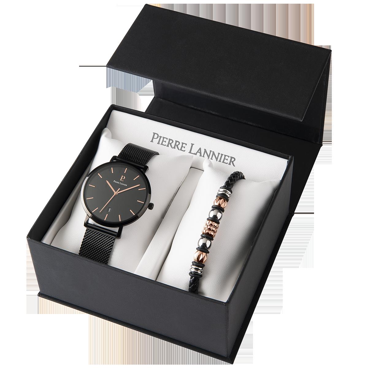 Мужские часы Pierre Lannier Echo +браслет 376C439
