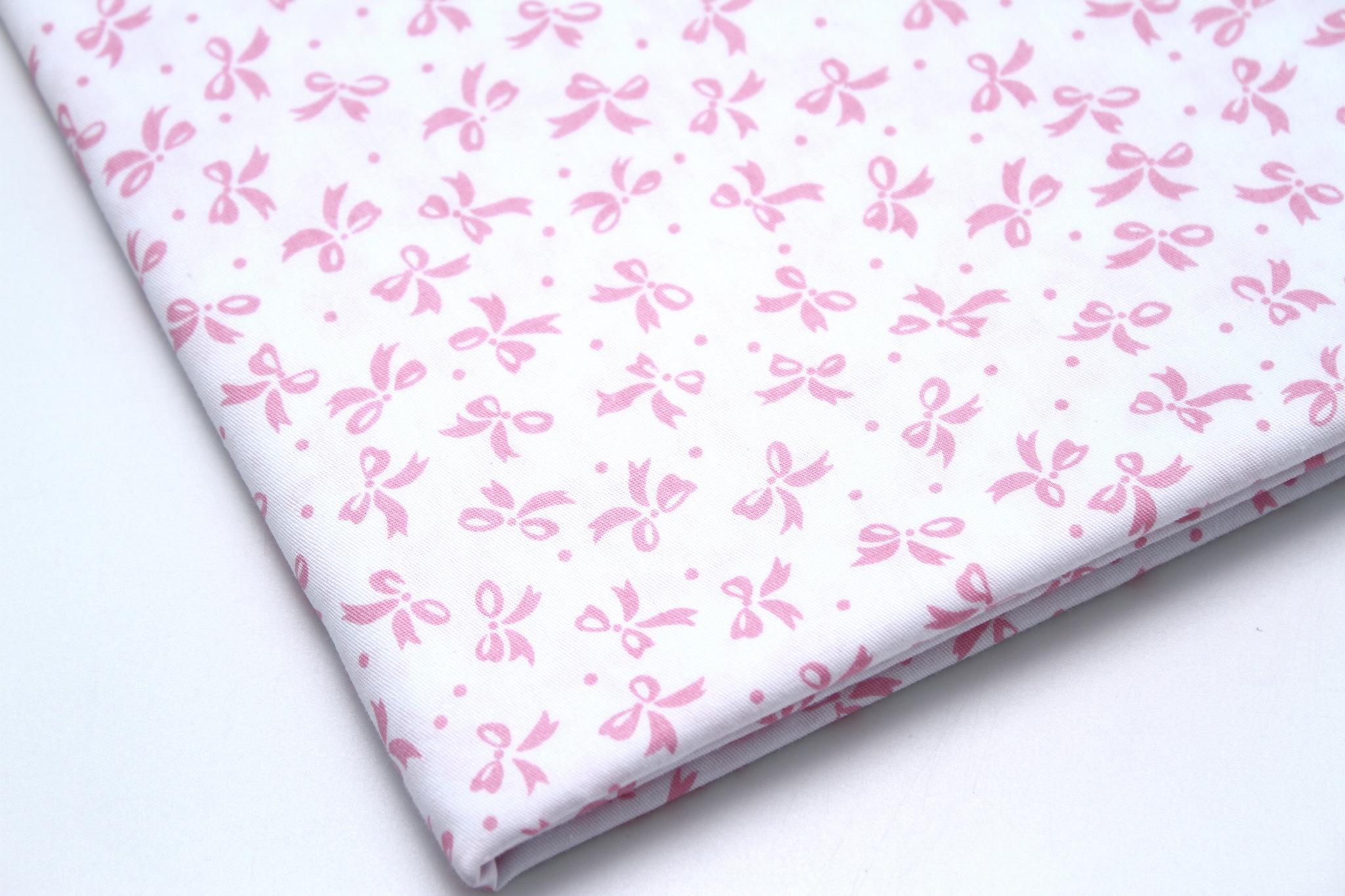 Бантики розовые