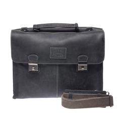 Портфель Klondike Native, черный, 40х11х31 см, 13,6 л