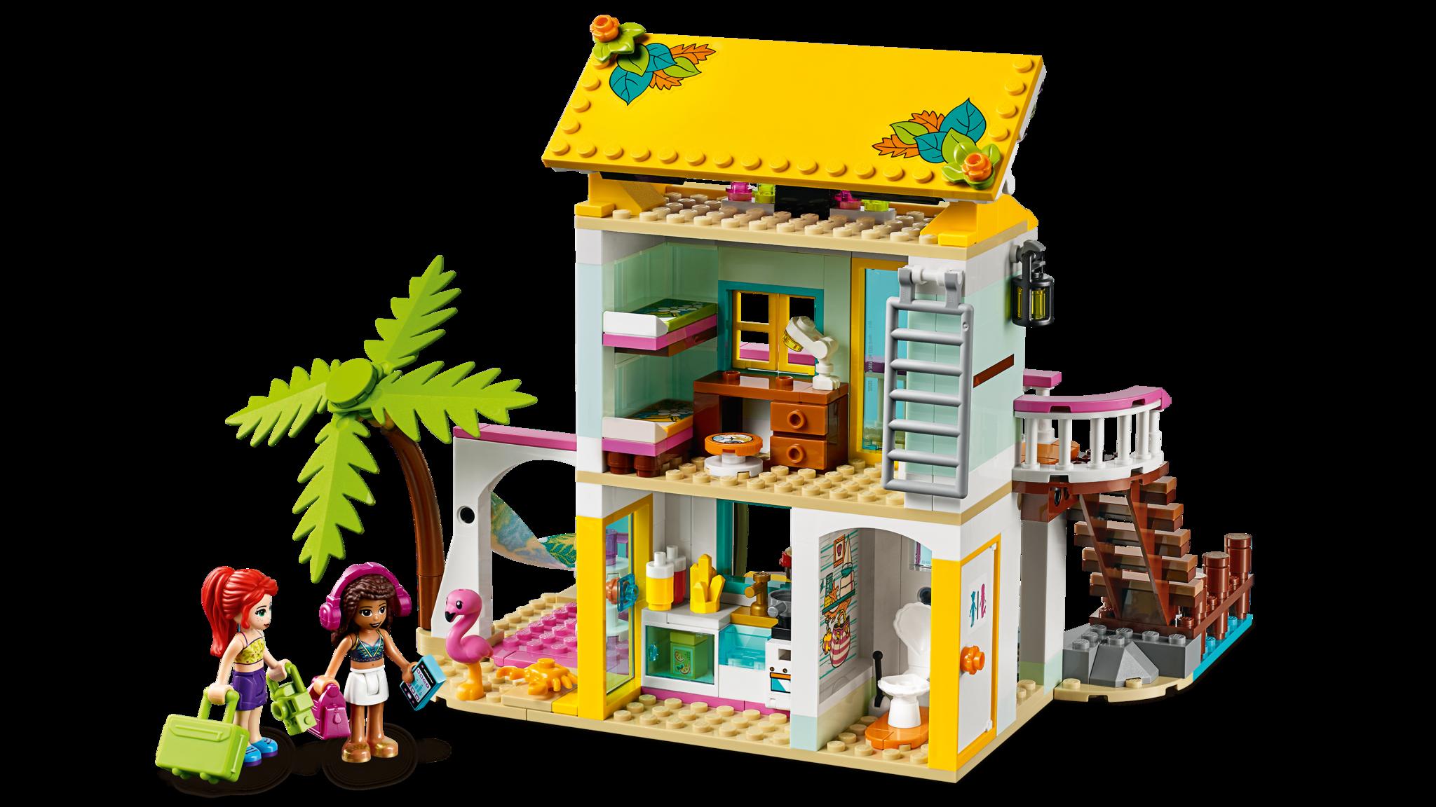 LEGO Friends 41428 Конструктор ЛЕГО Подружки Пляжный домик