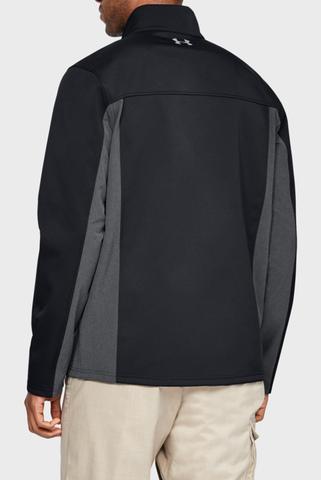 Мужская черная куртка FC Softshell Under Armour