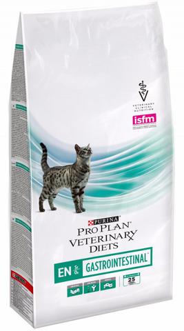Pro Plan Veterinary Diets EN Gastrointestinal корм для кошек при заболеваниях ЖКТ 1,5кг