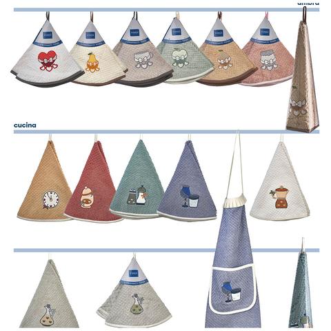 Полотенце пирамидка