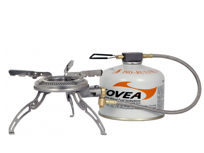 Газовая горелка со шлангом KGB-1302 Dual Flame Stove