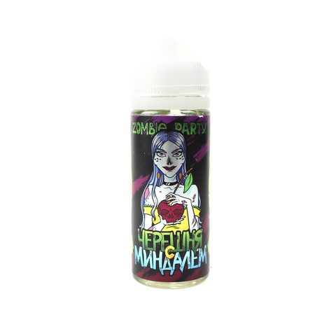 Жидкость Zombie Party Черешня с Миндалем