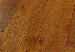 Массивная доска Magestik Floor коллекция Classic Дуб коньяк брашированный
