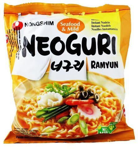 Лапша быстрого приготовления Неогури с морепродуктами, Nongshim, 120 г