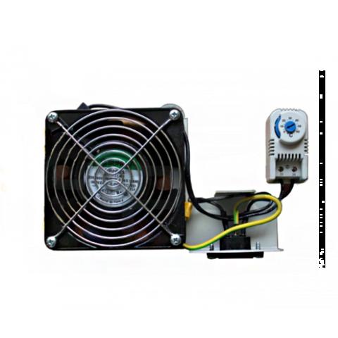 Вентиляторный блок c термостатом (1 вентилятор), РНТ: купить оптом в Москве по низкой цене