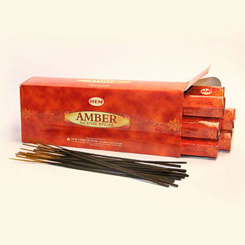 Благовония HEM Amber Янтарь (20 шт)