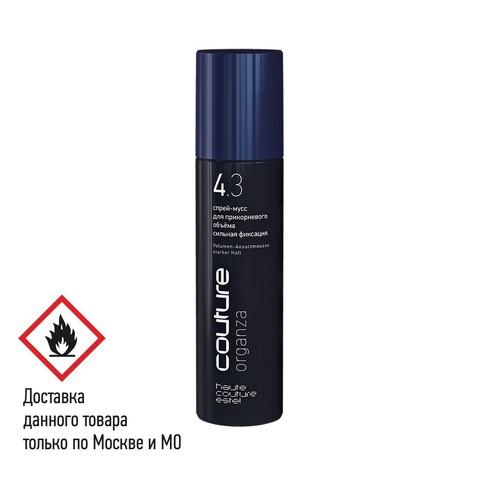 Спрей-мусс для прикорневого объёма ORGANZA | сильная фиксация, 250 мл