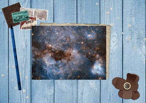 Снимок с космического телескопа