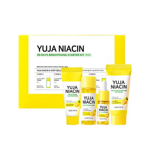 Some by Mi Yuja Niacin 30 Days Brightening Starter Kit набор миниатюр для осветления кожи