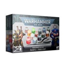 WH40K. Paints + Tools Set (2020)