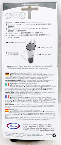 Картинка носки Thorlo DLTX Black - 3
