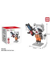 Конструктор Wisehawk & LNO Реактивный Енот 331 деталь NO. 2554 Rocket Raccoon Gift Series