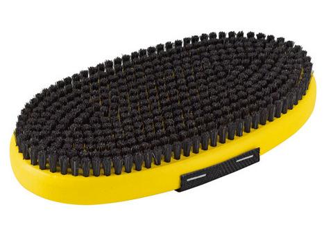 Картинка щетка Toko ручная, овальная,конский волос 10 мм  - 2