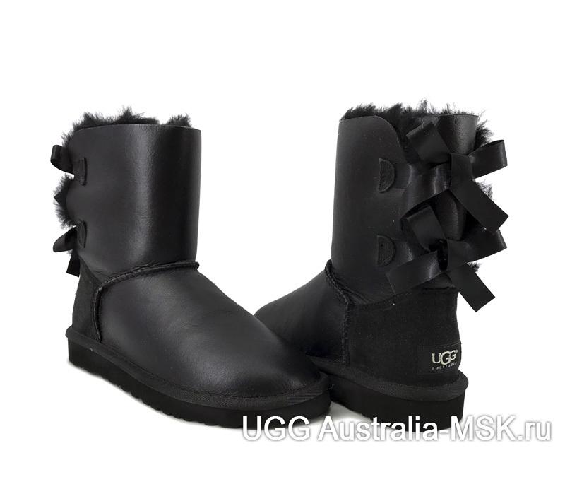 UGG Bailey Bow Black