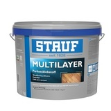 STAUF Multilayer (18 кг) эластичный однокомпонентный паркетный клей на основе силан-полиуретана (Германия)