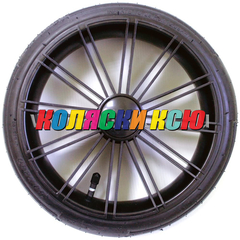 Колесо для детской коляски №003083 надув 12 дюймов (60-230) низкопрофильное