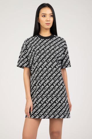 Женское платье Calvin Klein AOP T-SHIRT DRESS