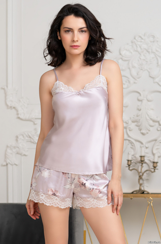 Пижама женская шелковая Mia-Amore SELINE  СЕЛИН 3712