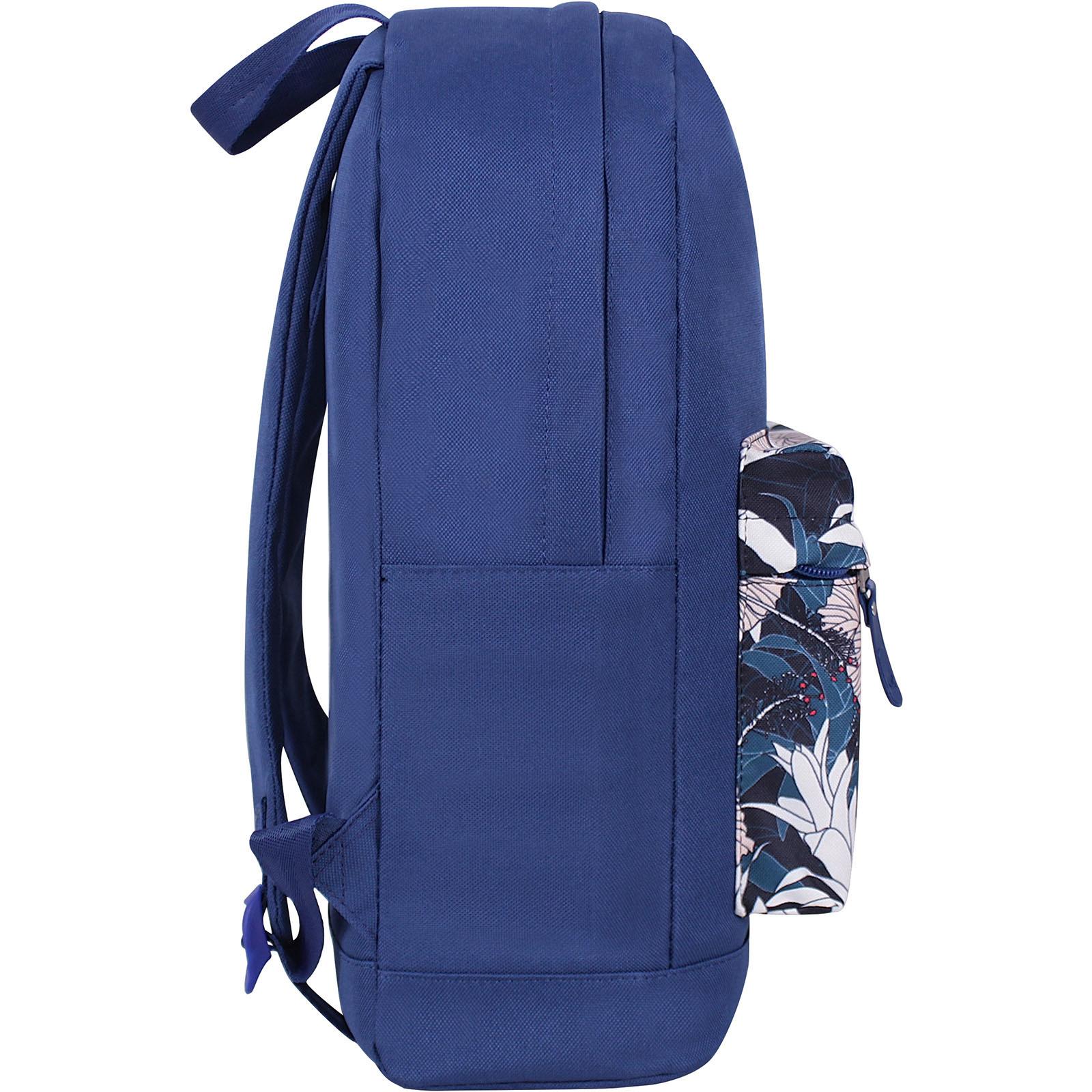 Рюкзак Bagland Молодежный W/R 17 л. Синий 766 (00533662) фото 2