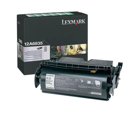 Оригинальный картридж Lexmark 12A6835 черный