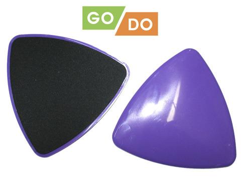 Диски (слайдеры) скольжения для глайдинга в форме треугольника: YJ-O2