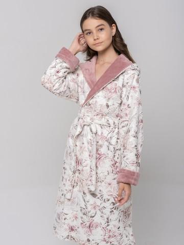 LITTLE MADONNA (pudra) детский халат для девочки  Five Wien Турция