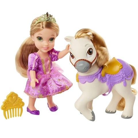 Дисней Рапунцель Кукла 15 см и Пони