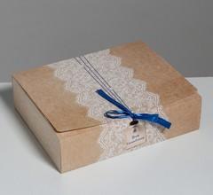 Коробка подарочная «Для вдохновения», 31 х 24,5 х 9 см / 1 шт. /