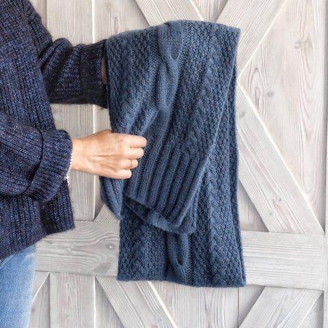 Описание шарфа UniScarf (дизайн-студия Трискеле)