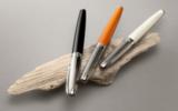Шариковая ручка Carandache Leman Bicolor Black SP латунь лак посеребрение с родиевым напылением (4789.289)
