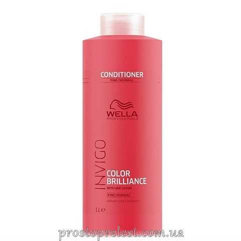 Wella Invigo Color Brilliance Conditioner Fine - Кондиціонер для тонкого і нормального фарбованого волосся 1000мл