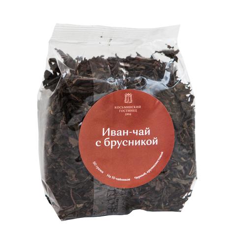 Иван-чай «Косьминский гостинец» крупнолистовой с брусникой, 50 г