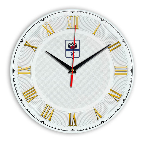 Интерьерные часы герб Оренбург 1