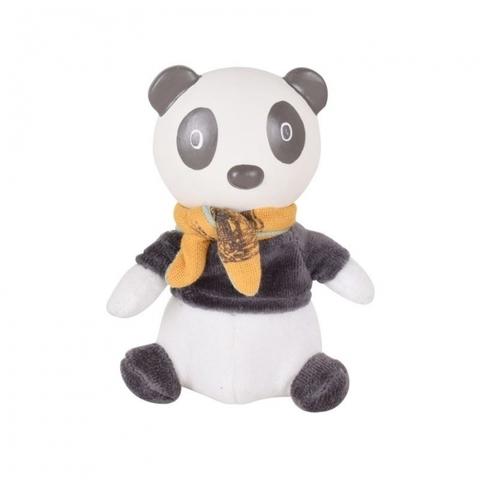 Мягконабивная игрушка с головой из каучука Панда Pancha