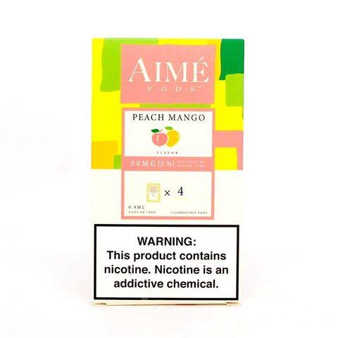 Сменный Картридж для JUUL Aimé Pods - Персик Манго х4, 50 мг