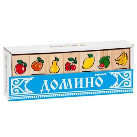 Домино Фрукты-ягоды Томик 5555-5