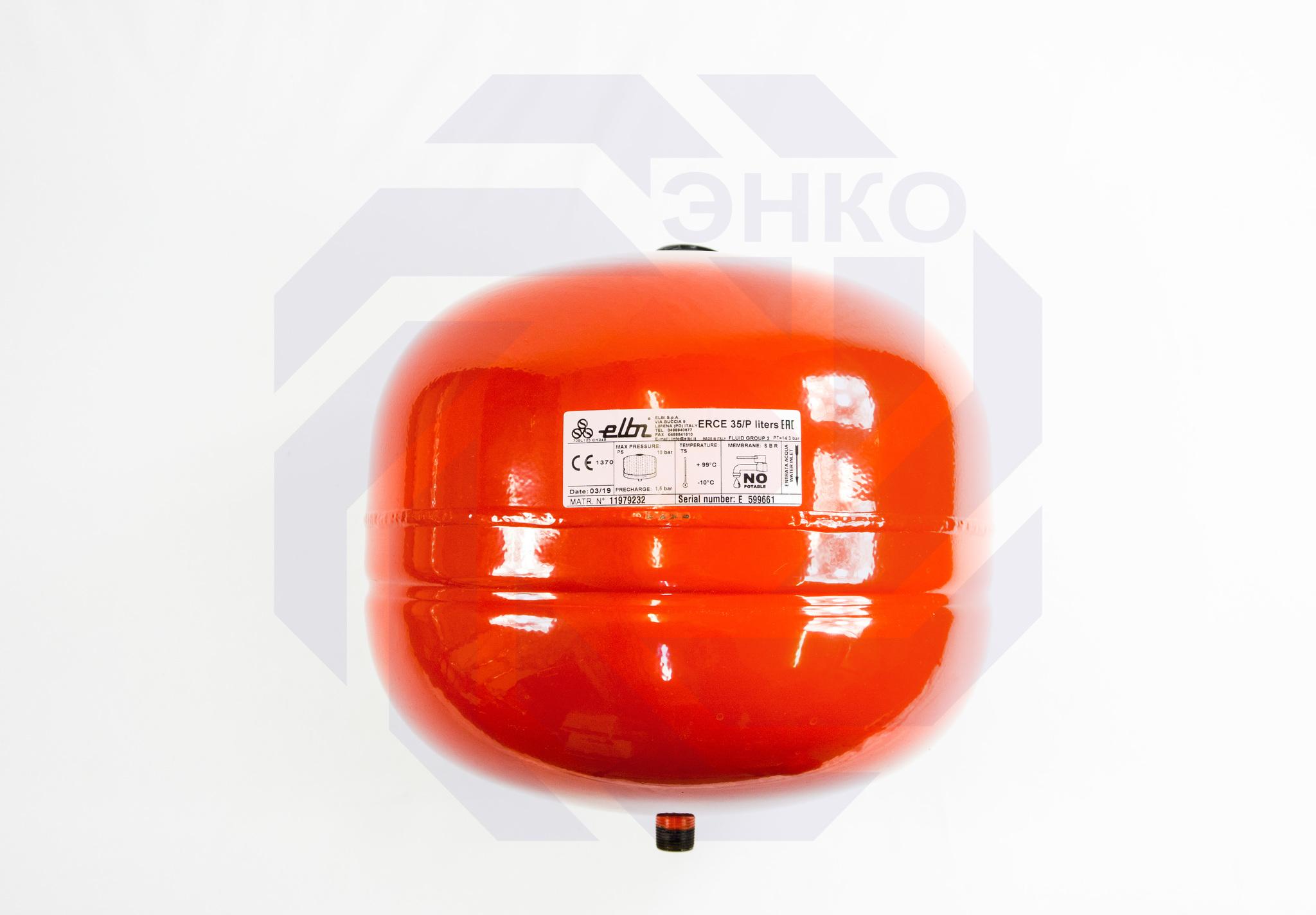 Бак расширительный ELBI ER 35 CE/p