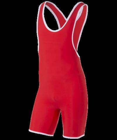 Трико борцовское 6917, 44-54, красный