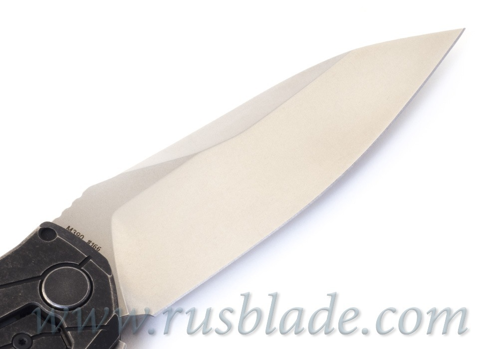 CKF T14W (new T90) knife - Alexey Konygin, M390, Copper, Ti - фотография